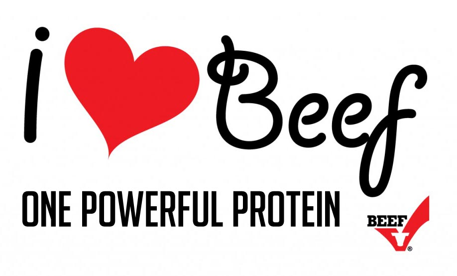 I love Beef—It's One Powerful Protein!